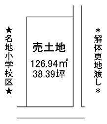 上田中町3丁目 売土地