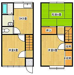 ホワイトタウン松浜[2階]の間取り