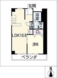 浅野ビル[3階]の間取り