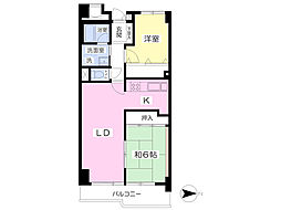 JR山手線 池袋駅 徒歩5分の賃貸マンション 7階2LDKの間取り