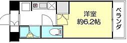 オガワ第3ビル[11階]の間取り