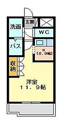 イーストピア TSUKUBA[105号室号室]の間取り