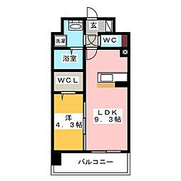 modern palazzo HAKATA riva I[10階]の間取り