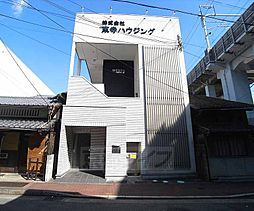 京都府京都市南区大黒町(大宮通八条上る)の賃貸アパートの外観