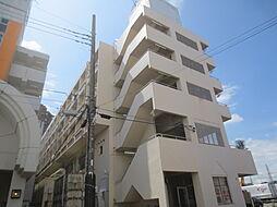 神奈川県厚木市田村町の賃貸マンションの外観