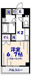 KANEMURA No.2BLD[4階]の間取り