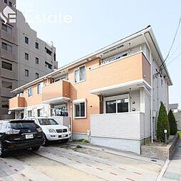 愛知県名古屋市天白区植田西2丁目の賃貸アパートの外観