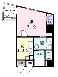 神奈川県横浜市中区長者町5丁目の賃貸マンションの間取り
