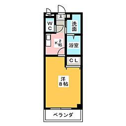 プリミエールI・T[3階]の間取り