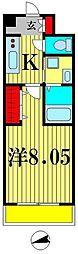 セナリオフォルム馬橋III[3階]の間取り
