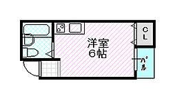 ミキモトビル[2階]の間取り