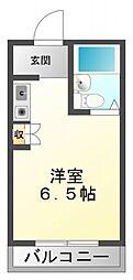 江坂第2平和マンション[2階]の間取り