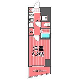 グランヴァンタクティス横濱[5階]の間取り