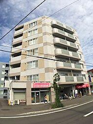 北海道札幌市西区西町南10丁目の賃貸マンションの外観