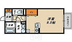 ハーフタイムIMAZU[1階]の間取り
