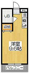 竹田マンション[3階]の間取り