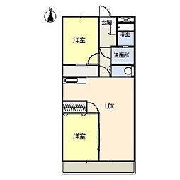 宮地興産ビル[3階]の間取り