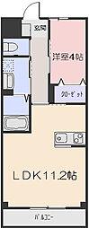 ブルーガーデン[2階]の間取り