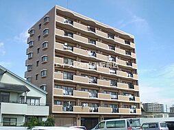 岡山県倉敷市日ノ出町1丁目の賃貸マンションの外観