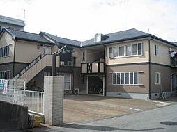 兵庫県加古川市平岡町新在家1丁目の賃貸アパートの外観