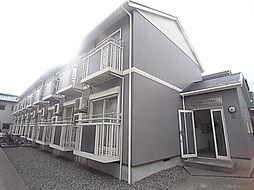 兵庫県神戸市灘区烏帽子町3丁目の賃貸アパートの外観