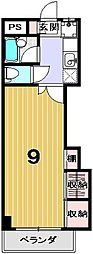 学生の家紫野[506号室]の間取り