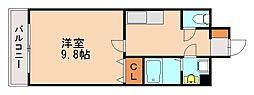 ラガール七隈[3階]の間取り