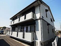 ドリームハイツA・B[1階]の外観