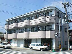 栃木県宇都宮市菊水町の賃貸マンションの外観