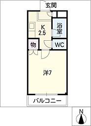 ダイナミックIII[2階]の間取り