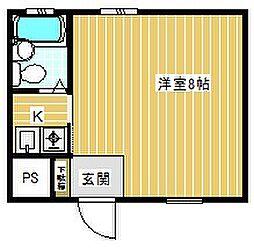 リー・アートビル[2階]の間取り