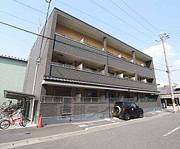 京都府京都市南区上鳥羽藁田の賃貸マンションの外観