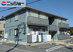 愛知県西尾市亀沢町の賃貸アパートの外観
