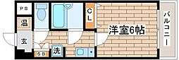 兵庫県神戸市須磨区行平町1丁目の賃貸マンションの間取り
