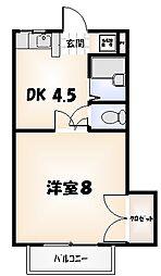 シルキーウェイ[1階]の間取り