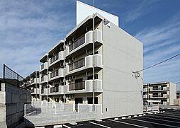 鹿児島県姶良市西餅田の賃貸マンションの外観