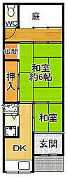 [一戸建] 兵庫県尼崎市杭瀬寺島1丁目 の賃貸【/】の間取り