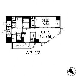 プレミアム菱屋西[201号室号室]の間取り