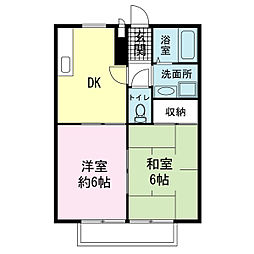 SUNGARDEN21[2階]の間取り