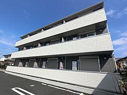 千葉県成田市本三里塚の賃貸アパートの外観