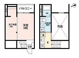 トータス鶴里[2階]の間取り