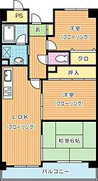 ハーモナイズ361[2階]の間取り