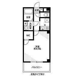 Casa Domani[108号室]の間取り