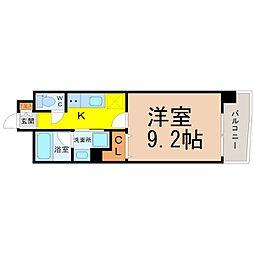 CHIKUSA AVANT-GARDE PLACE[8階]の間取り
