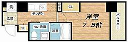 レジュールアッシュ京橋CROSSII[4階]の間取り