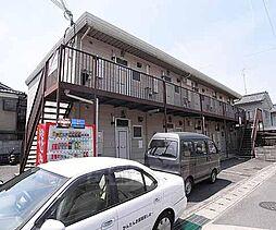 京都府京都市西京区山田弦馳町の賃貸アパートの外観