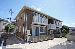 三重県鈴鹿市中旭が丘2丁目の賃貸アパートの外観