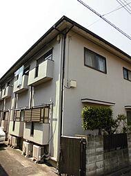 富田ハイツA[1階]の外観