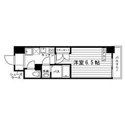 グランリール亀戸[4階]の間取り