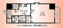己斐本町KIMURA.BLD三番館--[401号室]の間取り